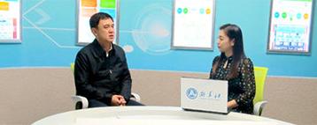訪庫爾勒經濟技術開發區管委會主任馬文鬱