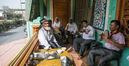 喀什:老城夏日