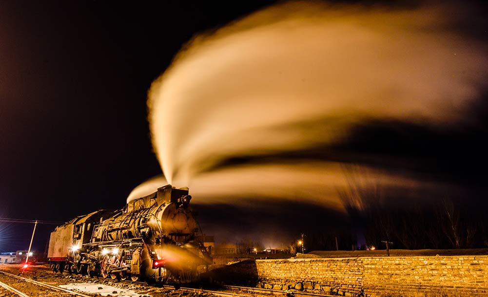 蒸汽機車司機的最後守望