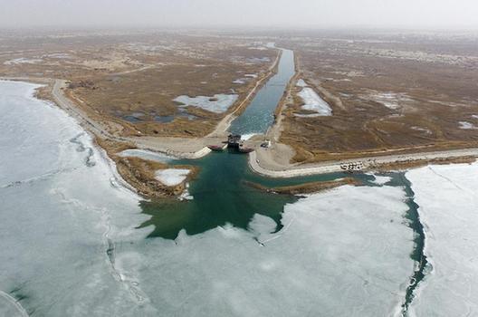 新疆啟動第19次向塔裏木河下遊生態輸水