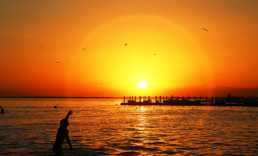 和碩金沙灘丨醉在夕陽下