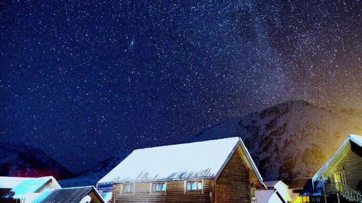 新疆是個好地方|抬手摘星!在禾木看璀璨星空